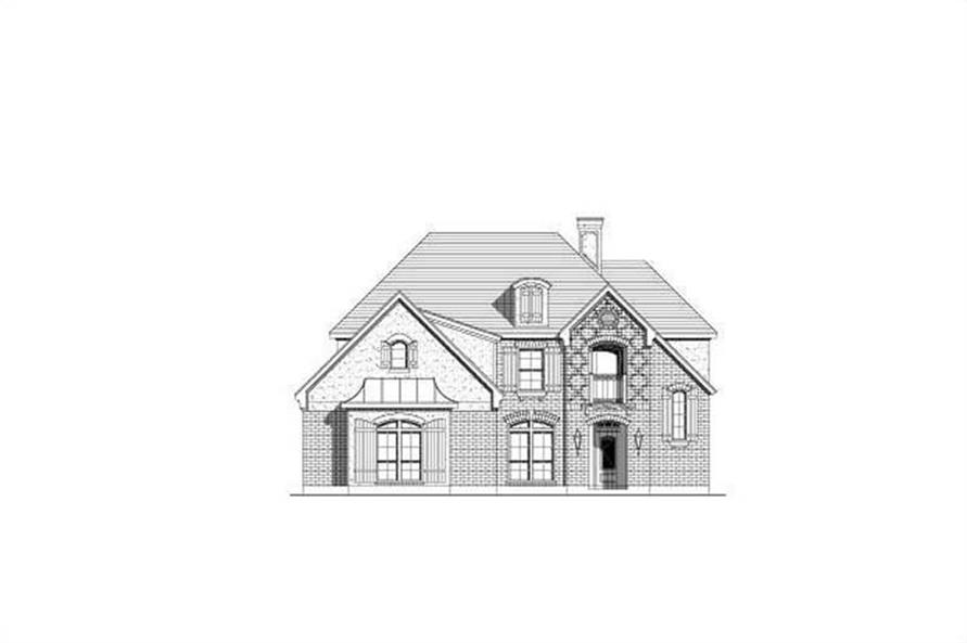 Main image for house plan # 19575
