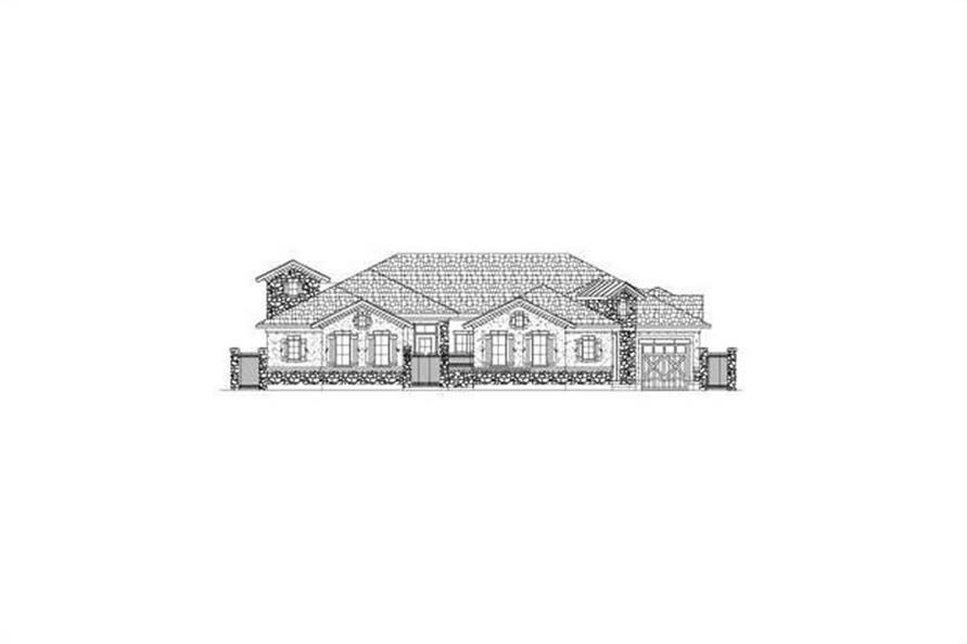Main image for house plan # 15849