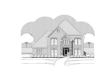 4-Bedroom, 3582 Sq Ft Luxury Home Plan - 156-2148 - Main Exterior