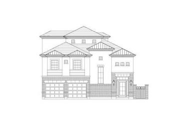 3-Bedroom, 3548 Sq Ft Luxury House Plan - 156-2151 - Front Exterior