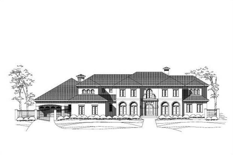 Main image for luxury house plan # 19588