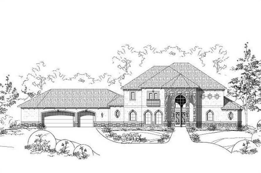 Main image for house plan # 15826