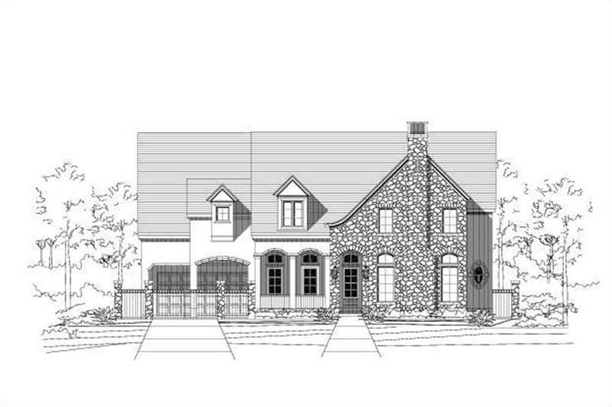 Main image for luxury house plan # 19569