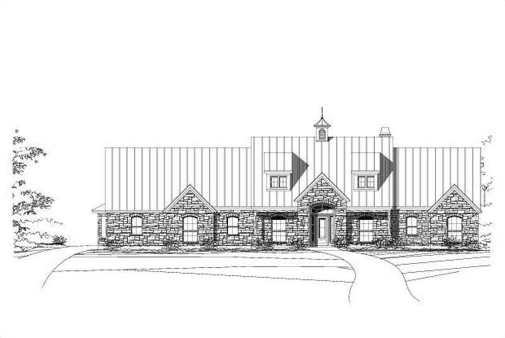 Main image for house plan # 15828