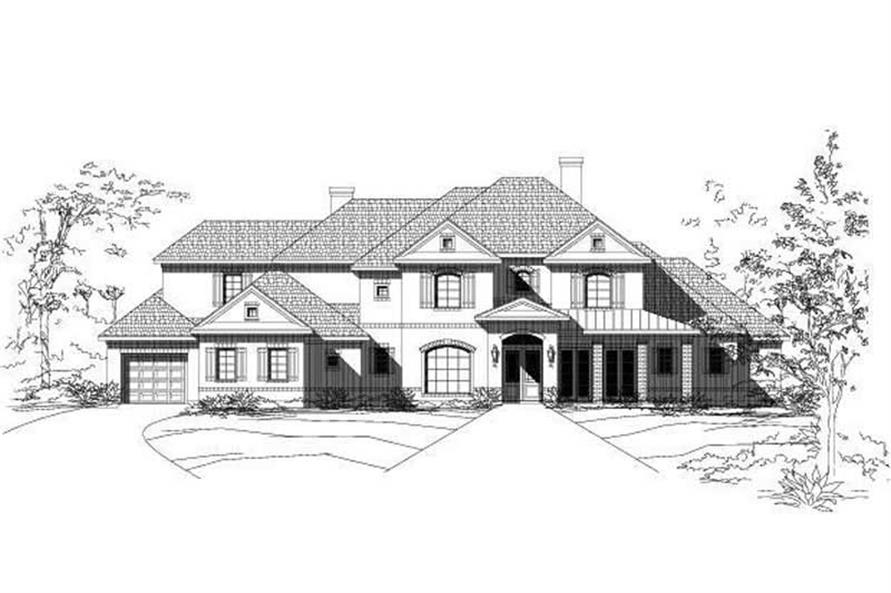 Main image for luxury house plan # 19570