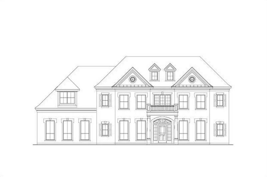 Main image for house plan # 15600