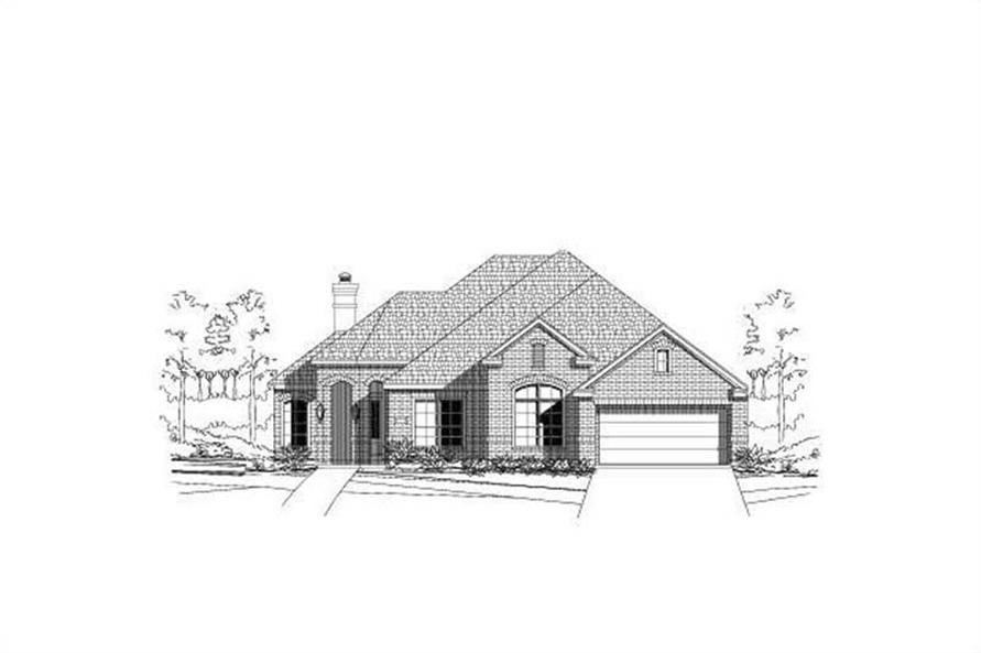 Main image for house plan # 15522