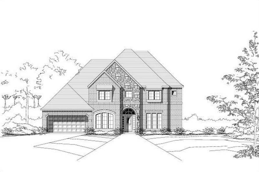 Main image for house plan # 15470