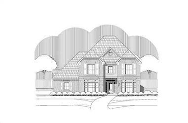 4-Bedroom, 3582 Sq Ft Luxury Home Plan - 156-2178 - Main Exterior