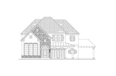 4-Bedroom, 3967 Sq Ft Country House Plan - 156-2179 - Front Exterior