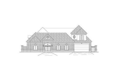 3-Bedroom, 3710 Sq Ft Luxury Home Plan - 156-2181 - Main Exterior
