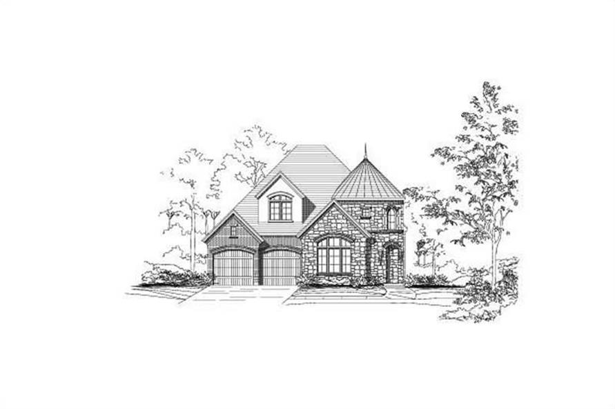Main image for house plan # 19727