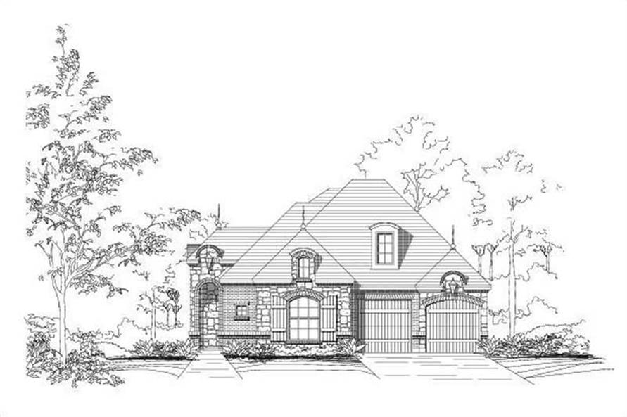 Main image for house plan # 19728