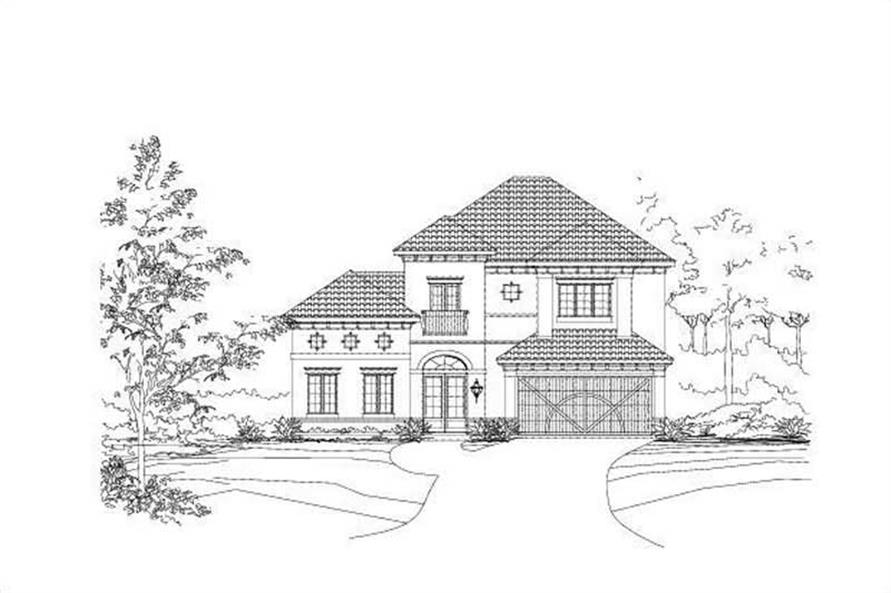 Main image for house plan # 15834