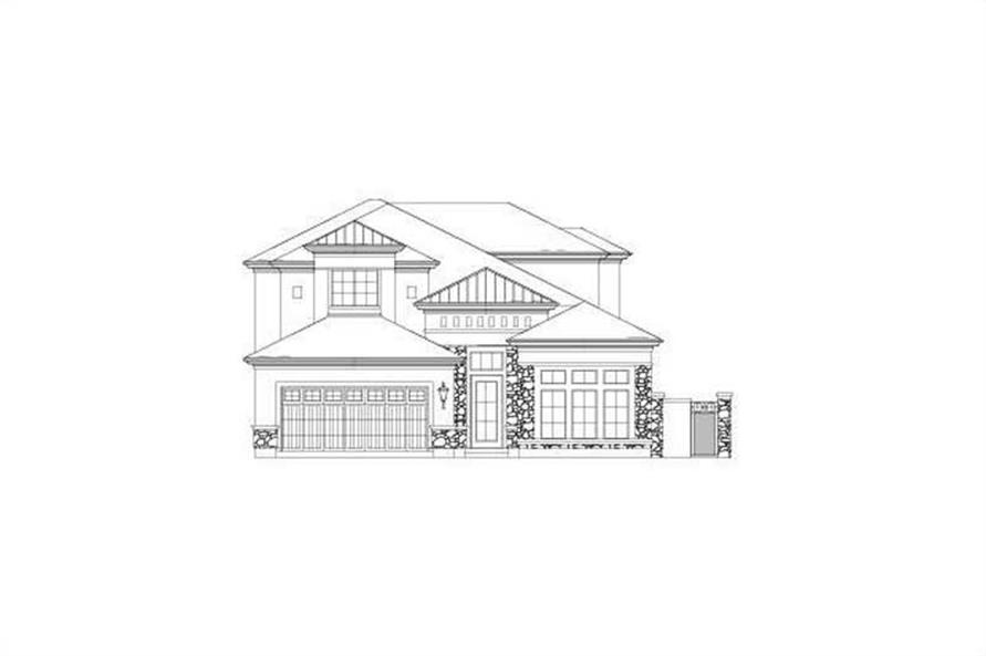 Main image for house plan # 15792