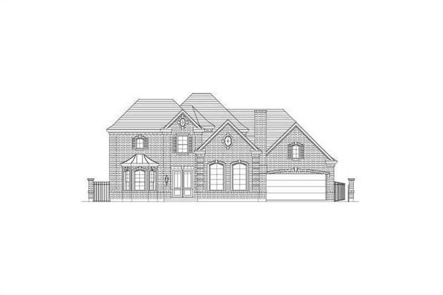 Main image for house plan # 15709