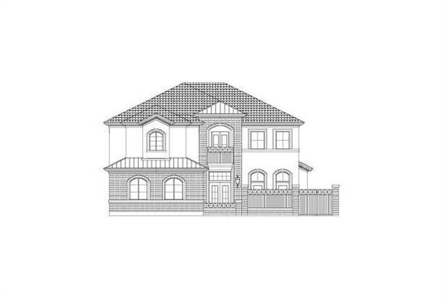 3-Bedroom, 3468 Sq Ft Luxury Home Plan - 156-2213 - Main Exterior