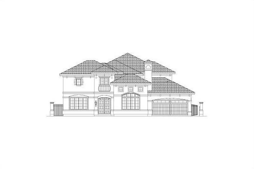 Main image for house plan # 15745