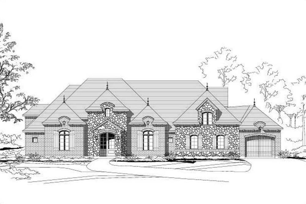Main image for house plan # 15780