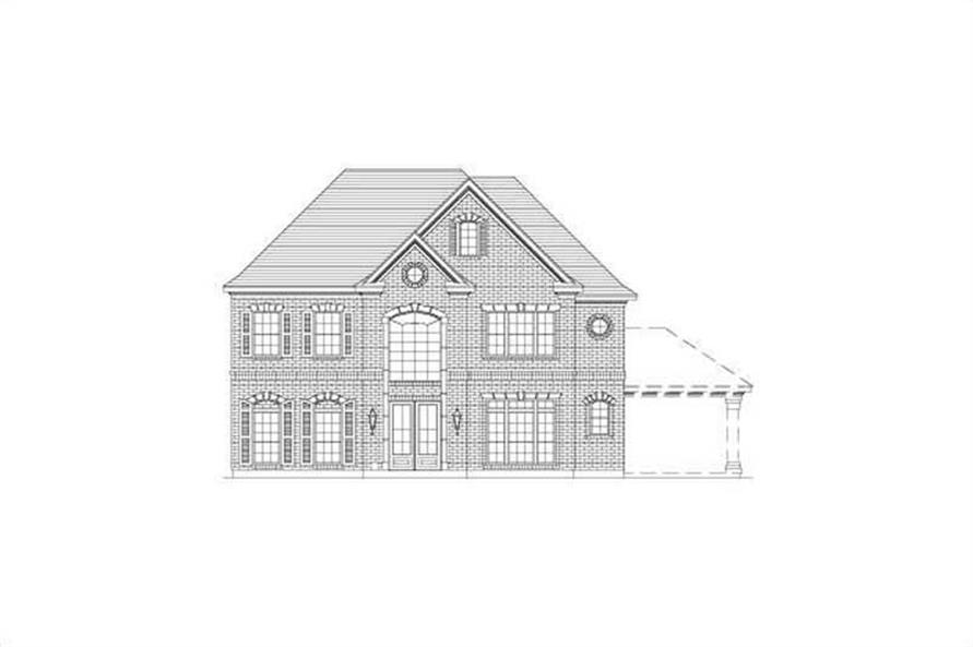 Main image for house plan # 15732