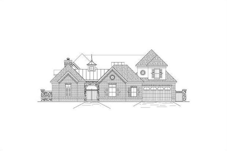 Main image for house plan # 15661