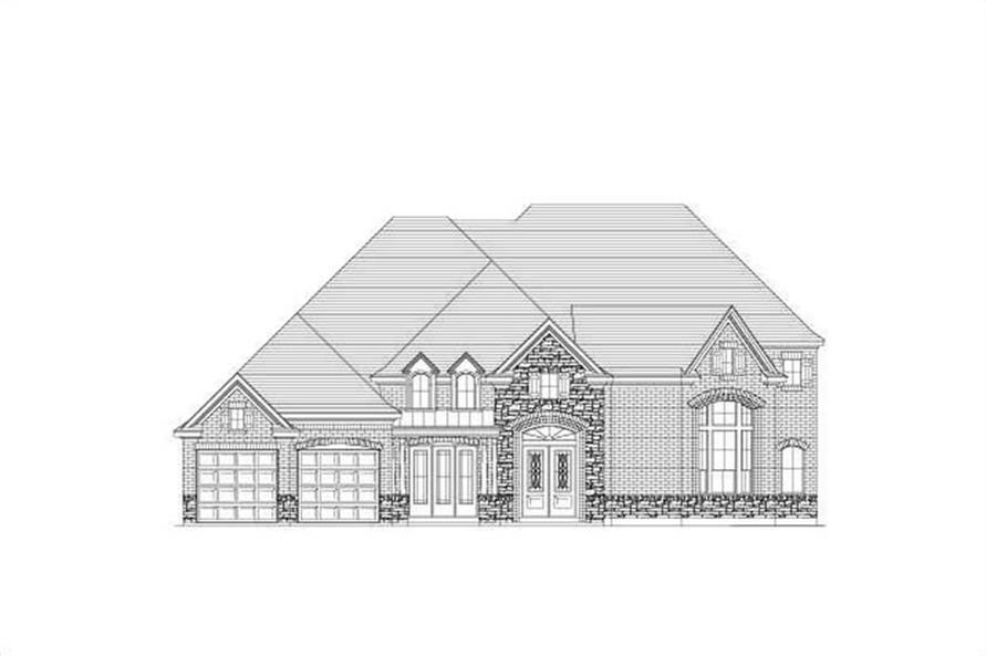 Main image for house plan # 15645
