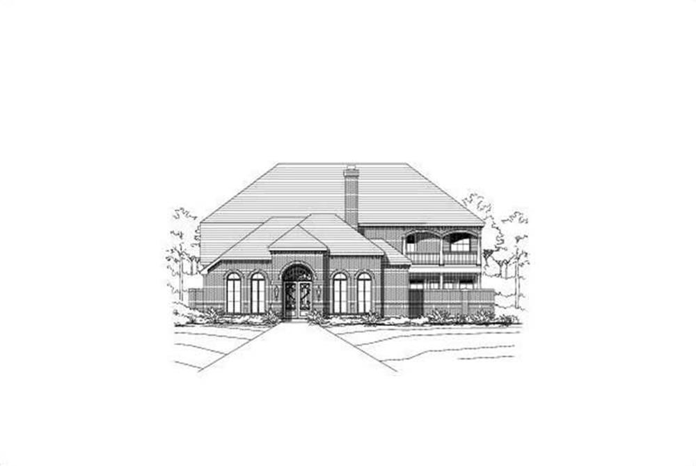 Main image for house plan # 15676