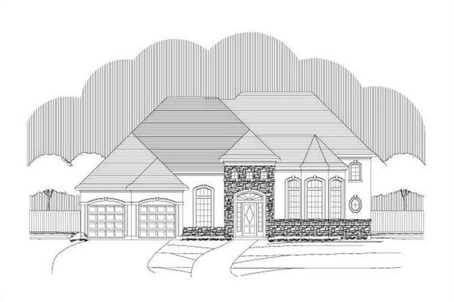 Main image for house plan # 15647