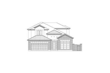 4-Bedroom, 3234 Sq Ft Traditional Home Plan - 156-2229 - Main Exterior