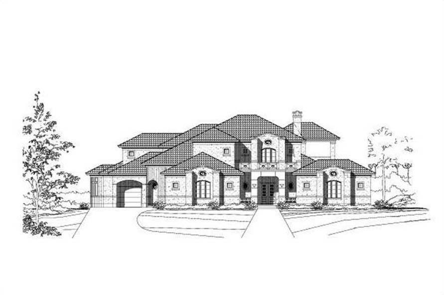 Main image for house plan # 15683