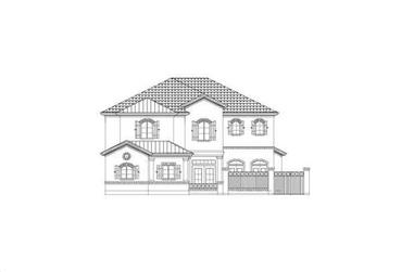 3-Bedroom, 3462 Sq Ft Country Home Plan - 156-2235 - Main Exterior