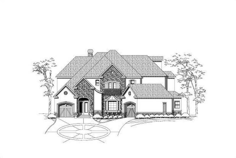 Main image for house plan # 19722