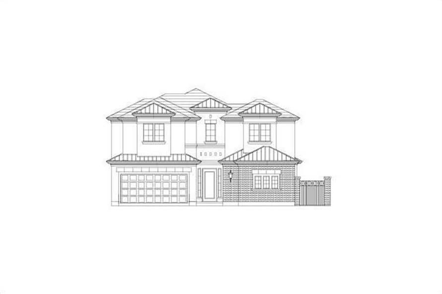 Main image for house plan # 15753