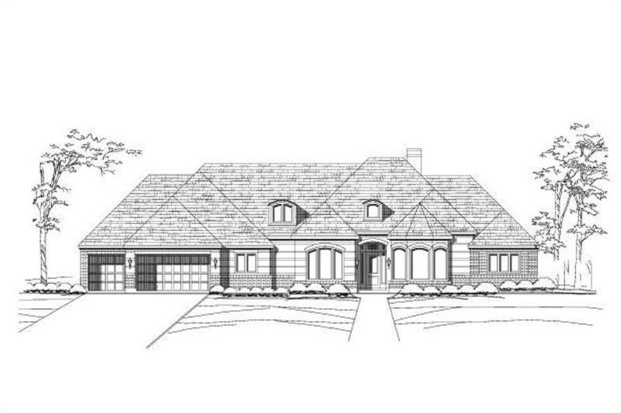 Main image for house plan # 15223