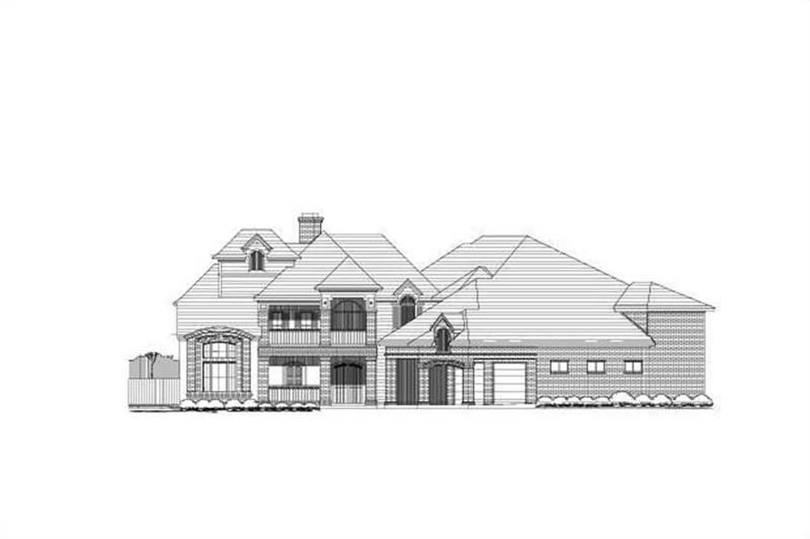 Main image for luxury house plan # 19542