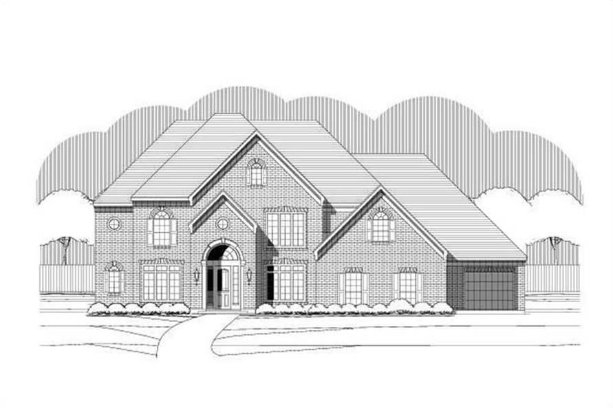Main image for luxury house plan # 19566