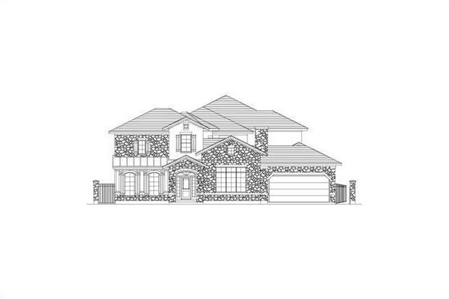 Main image for house plan # 15719