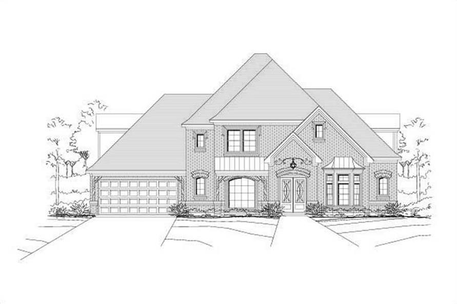 Main image for house plan # 15461