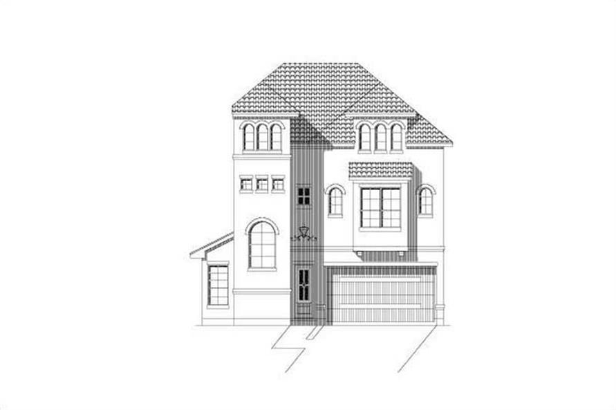 3-Bedroom, 3438 Sq Ft Multi-Unit Home Plan - 156-2280 - Main Exterior