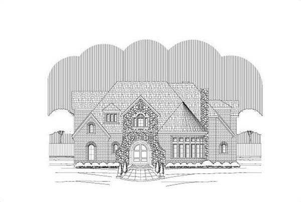 Main image for house plan # 19520