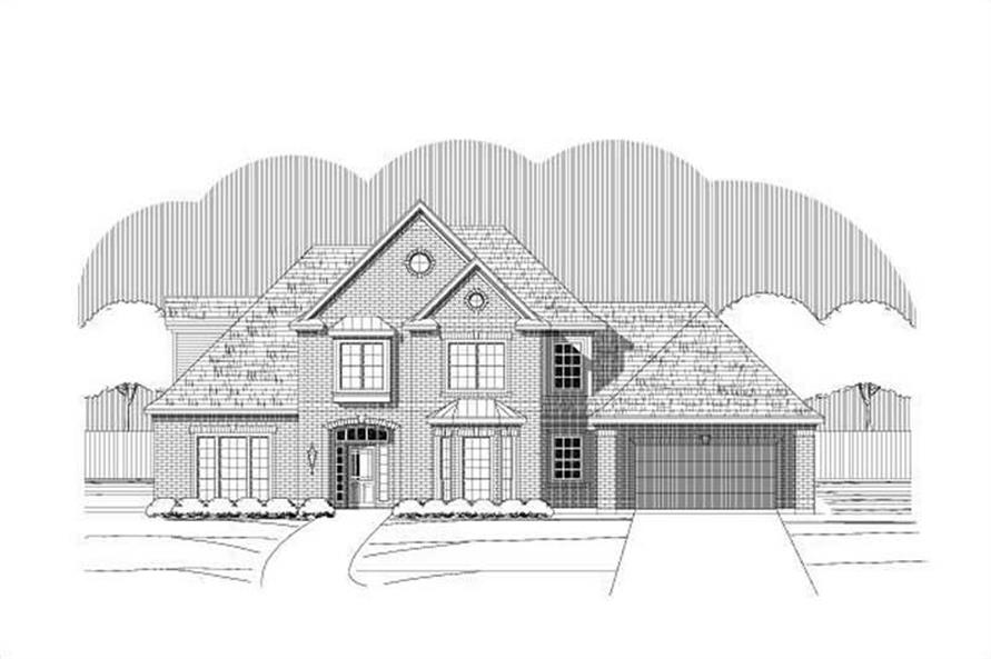 Main image for house plan # 15455