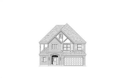 3-Bedroom, 3070 Sq Ft Traditional Home Plan - 156-2296 - Main Exterior