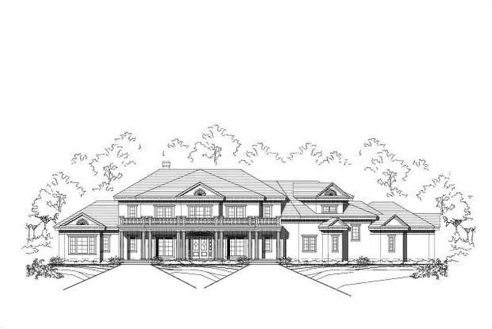 Main image for luxury house plan # 19528