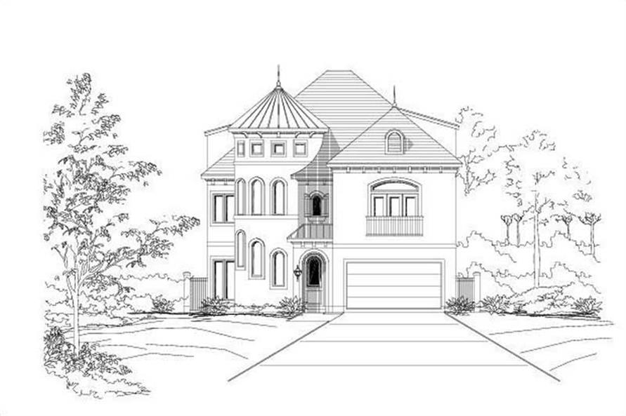 Main image for house plan # 19703