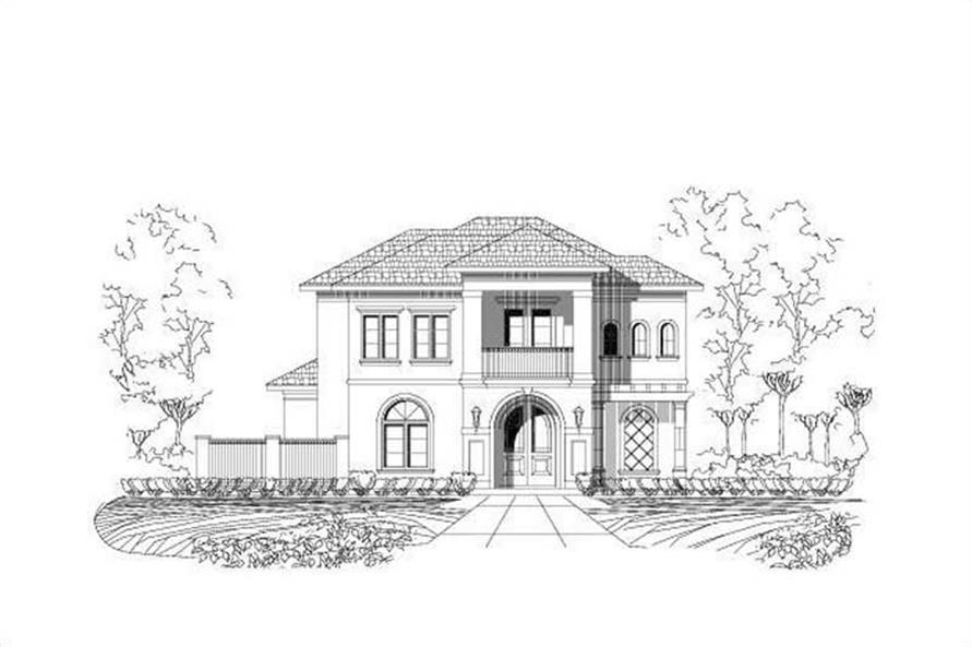 Main image for house plan # 15543