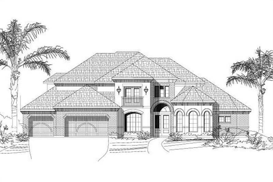 Main image for house plan # 15949
