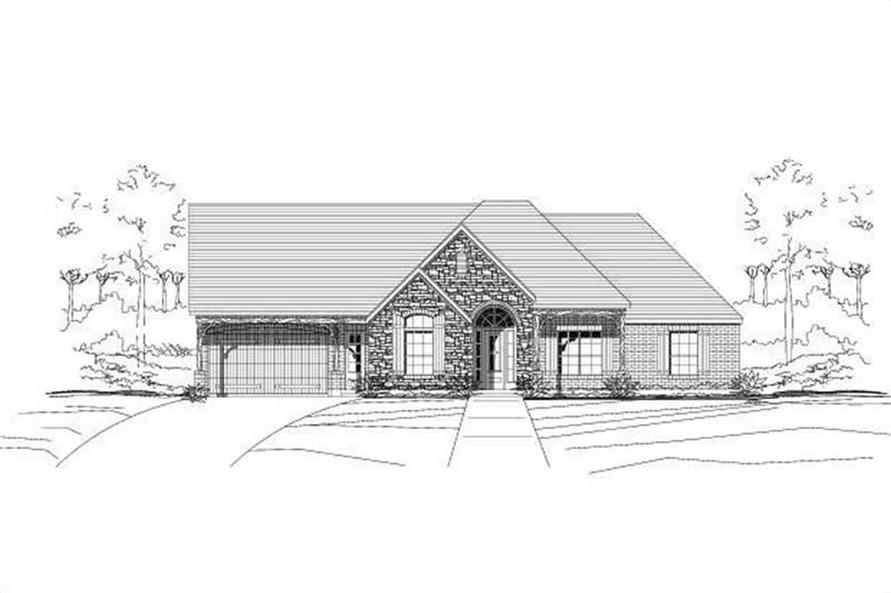 Main image for house plan # 15951