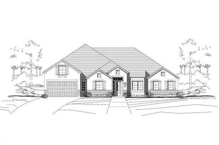 Main image for house plan # 15952