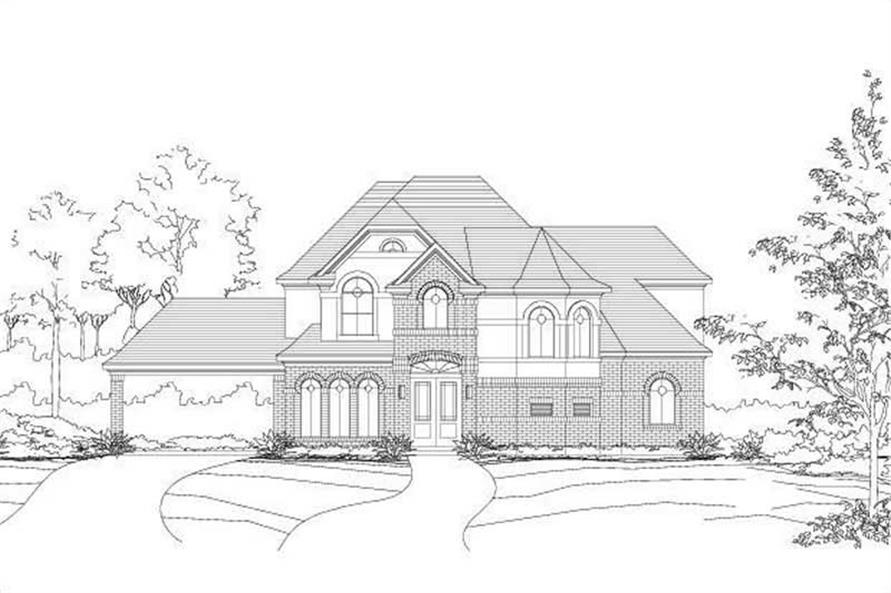 Main image for house plan # 15558
