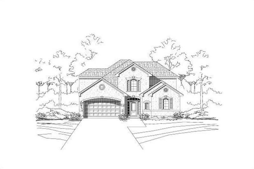 Main image for house plan # 15953